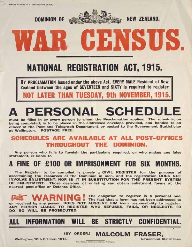 War Census